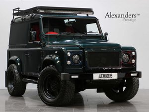 2016 16 65 LAND ROVER DEFENDER 90 XS HARD TOP TWISTED 2.2 MANUAL