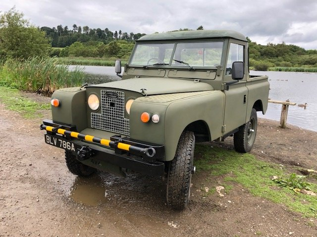 1963 Land Rover Series 2a 2.5na Galvanised chassis Truck cab For Sale (picture 1 of 6)