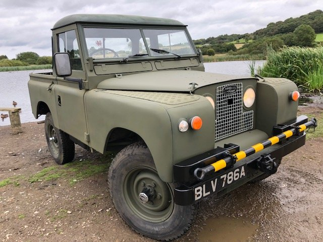 1963 Land Rover Series 2a 2.5na Galvanised chassis Truck cab For Sale (picture 2 of 6)