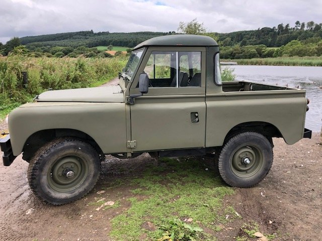 1963 Land Rover Series 2a 2.5na Galvanised chassis Truck cab For Sale (picture 3 of 6)