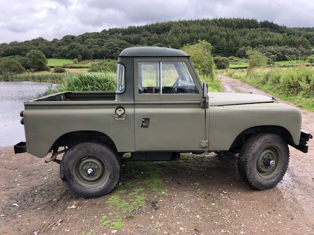 1963 Land Rover Series 2a 2.5na Galvanised chassis Truck cab For Sale (picture 4 of 6)