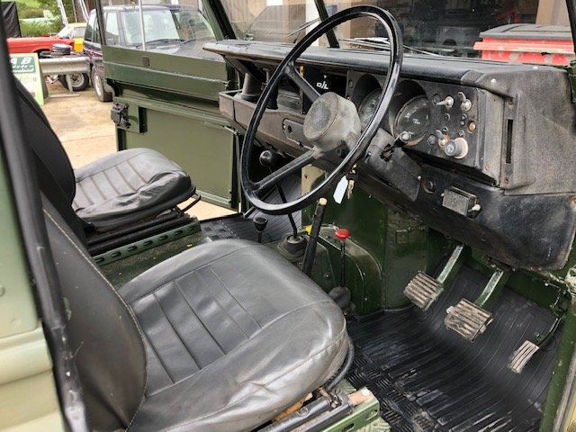 1963 Land Rover Series 2a 2.5na Galvanised chassis Truck cab For Sale (picture 5 of 6)