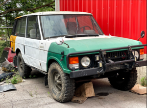 Picture of 1973 Range Rover Classic Suffix B Project LHD