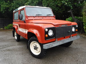 1985 Land Rover 90 2.5 County Station Wagon (7 Seats)  C-REG