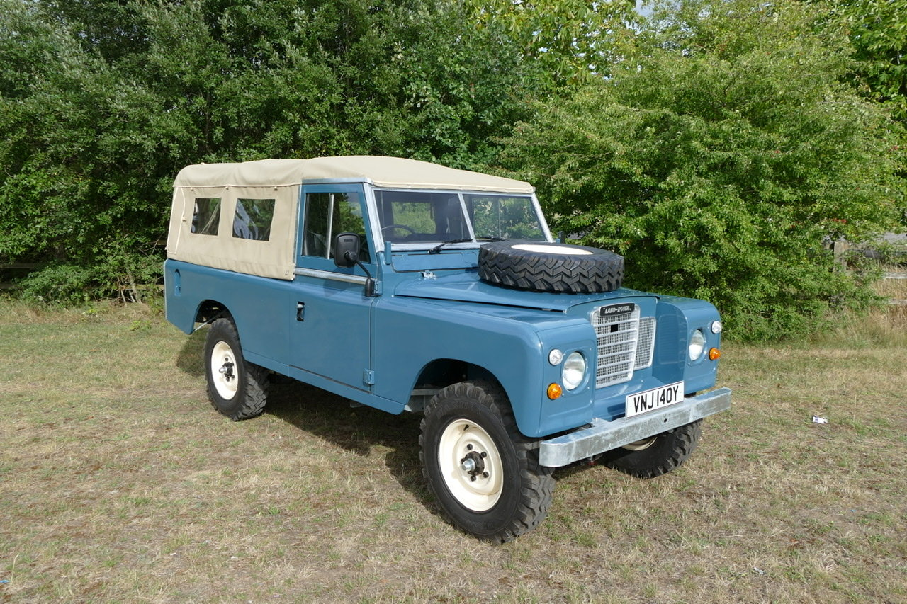 1982 Land Rover Series 3 109 soft top fully restored SOLD (picture 1 of 6)