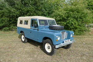 Land Rover Series 3 109 softop restored