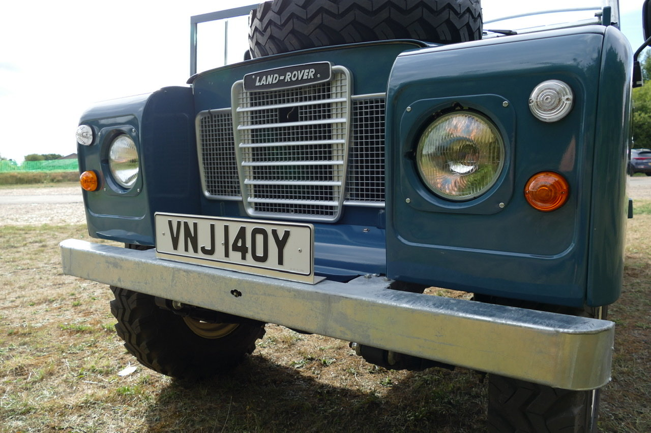 1982 Land Rover Series 3 109 soft top fully restored SOLD (picture 5 of 6)