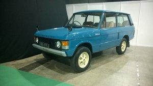 Land Rover Range Rover Classic Suffix A
