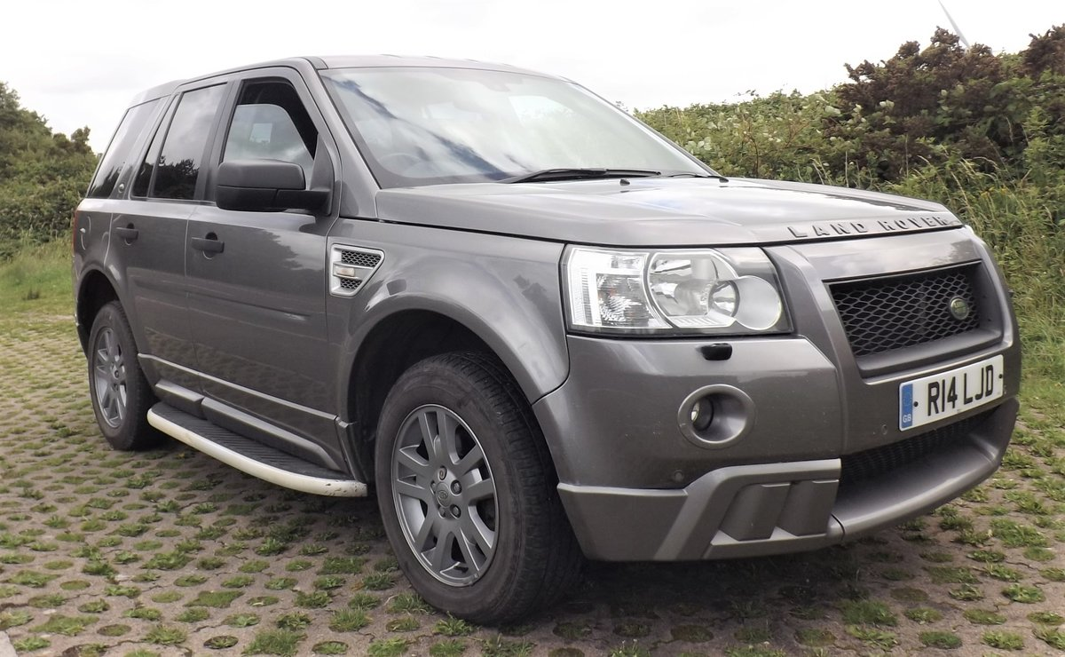 2007 LandRover Freelander 2 AUTOMATIC, GunMetal Grey, For Sale (picture 1 of 6)