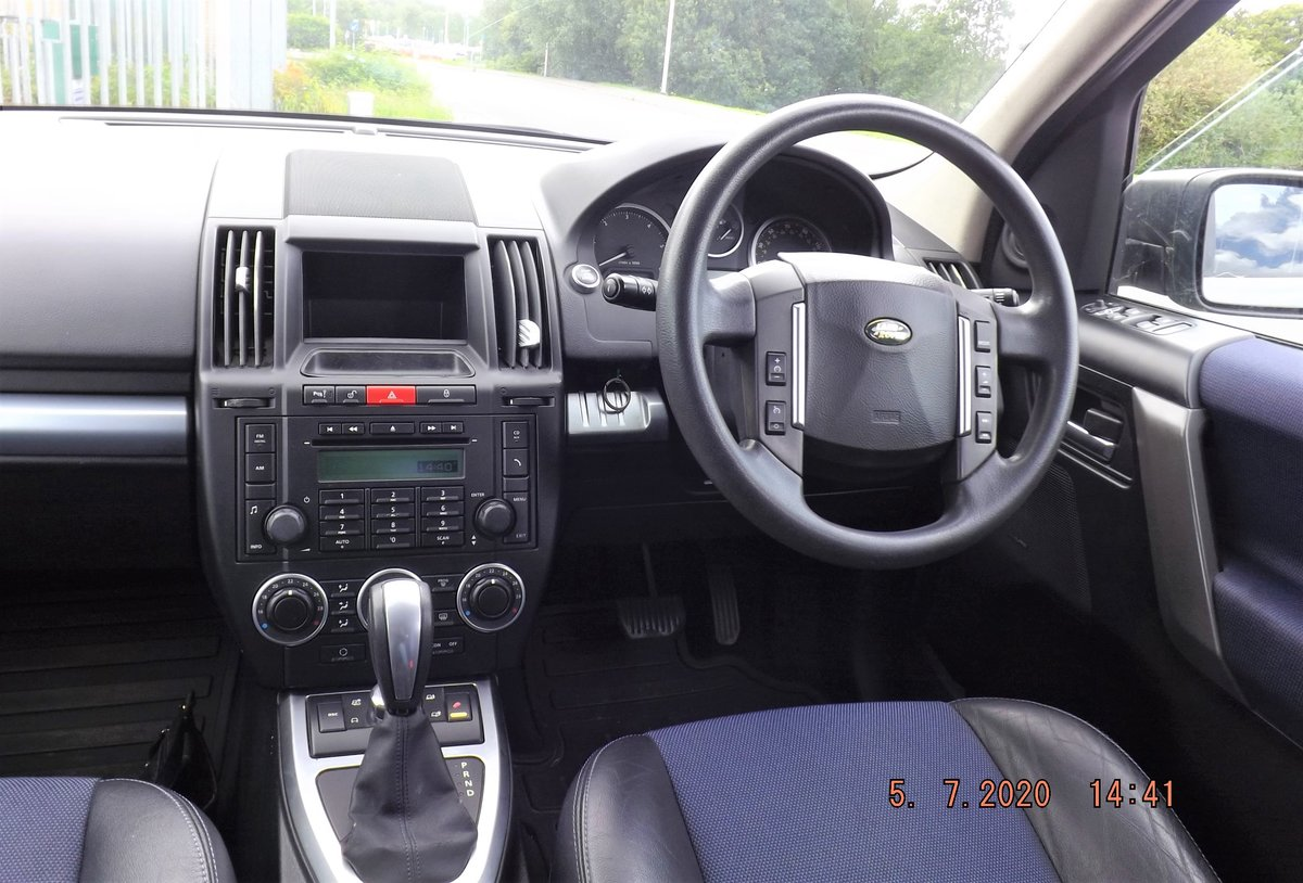 2007 LandRover Freelander 2 AUTOMATIC, GunMetal Grey, For Sale (picture 5 of 6)