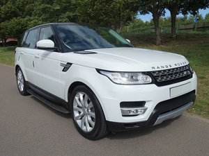 Picture of 2016/16 Range Rover Spt HSE SDV6 - White/Blk Leather