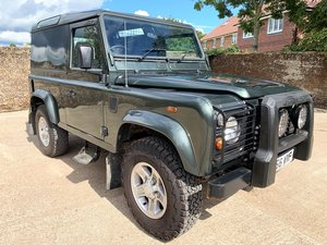 2006/56 DEFENDER 90 TD5 COUNTY HARDTOP 1 OWNER FROM NEW