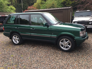 2001 Range Rover P38A 30th Anniversary Limited Edition