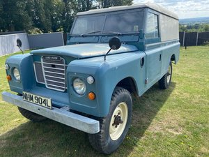 LANDROVER 1972 L REG DIESEL SERIES 3 LWB COMMERCIAL 109 For Sale