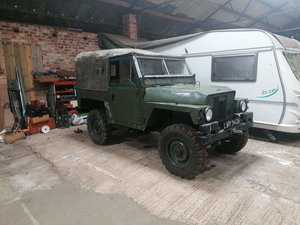 Land Rover - unfinished project