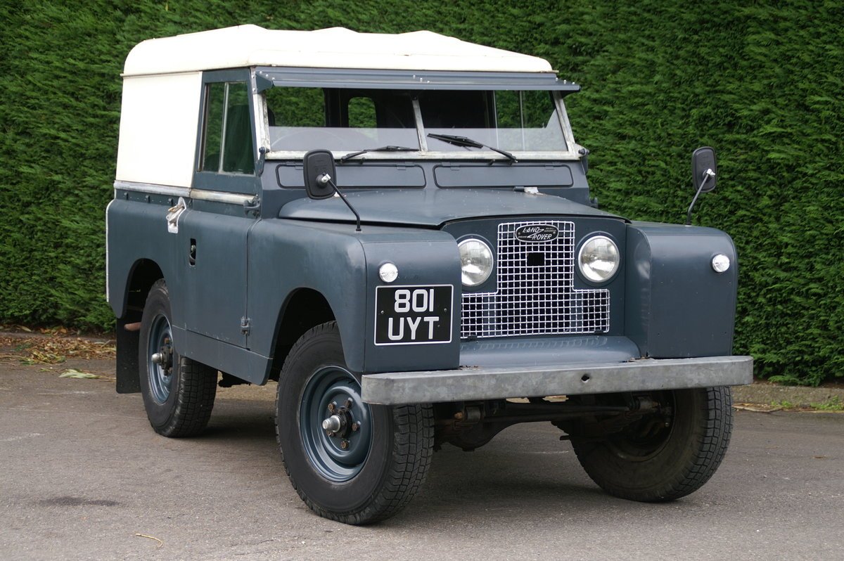 1963 Land Rover Series 2 88 For Sale (picture 1 of 6)