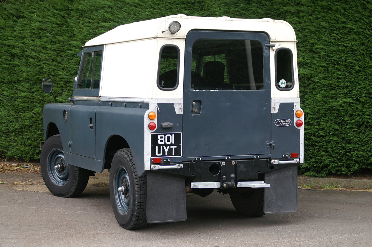 1963 Land Rover Series 2 88 For Sale (picture 6 of 6)