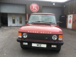 Rare Manual Classic Range Rover