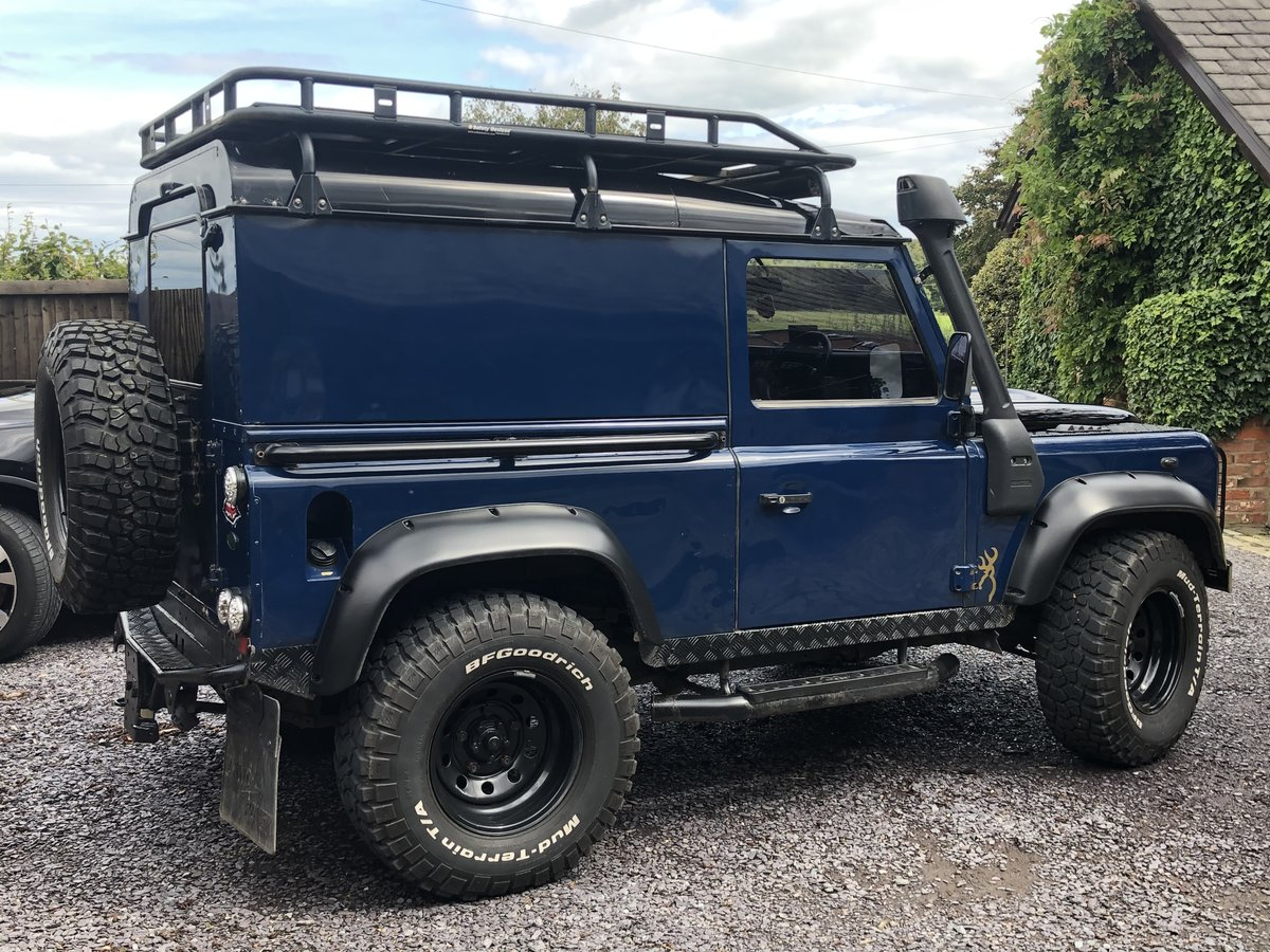 2004 Land Rover Smart defender 90 For Sale (picture 1 of 6)