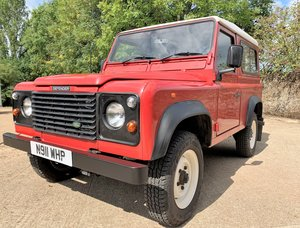 Picture of 1996 DEFENDER 90 300TDI 5 SEATER+1 LADY OWNER SINCE 2002 SOLD