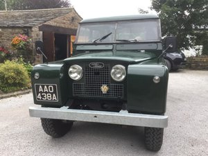 **OCTOBER ENTRY** 1960 Land Rover Series II LWB