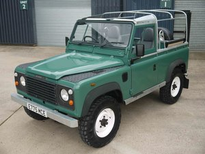 Picture of 1988 Land Rover Ninety 2.5D - Trident Green soft top SOLD