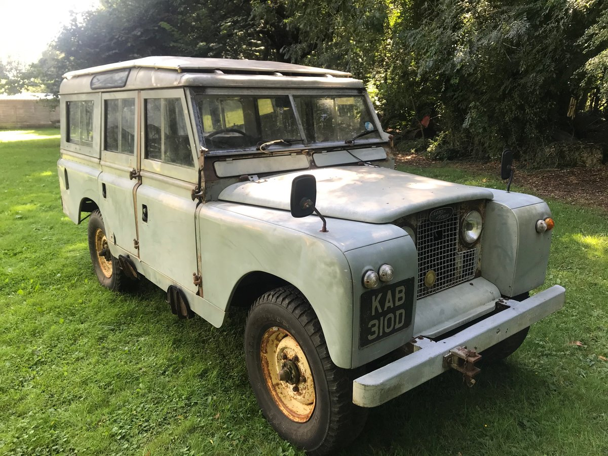 1996 Land Rover Series 2a IIa 1966 109 SOLD (picture 1 of 6)