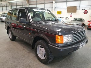 **OCTOBER ENTRY** 1995 Range Rover P38