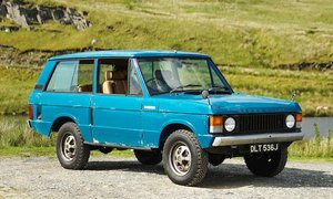 1971 Range Rover 3-Door For Sale by Auction