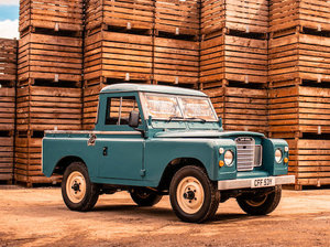 1982 Land Rover Series III 88 For Sale by Auction