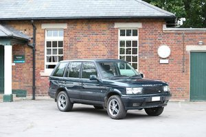 2000 Range Rover 4.6 Holland and Holland  For Sale by Auction