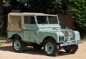 1948 Land Rover Series I 80 Inch For Sale by Auction