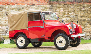 1952 Land Rover Series I 80 For Sale by Auction