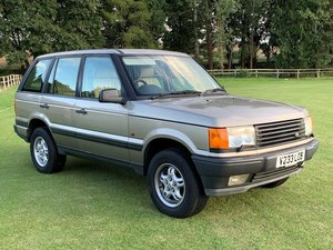 1999 Range Rover P38 4.0 SE For Sale by Auction