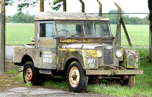 1955 Land Rover 86 Utility 2-Axle Rigid Body For Sale by Auction