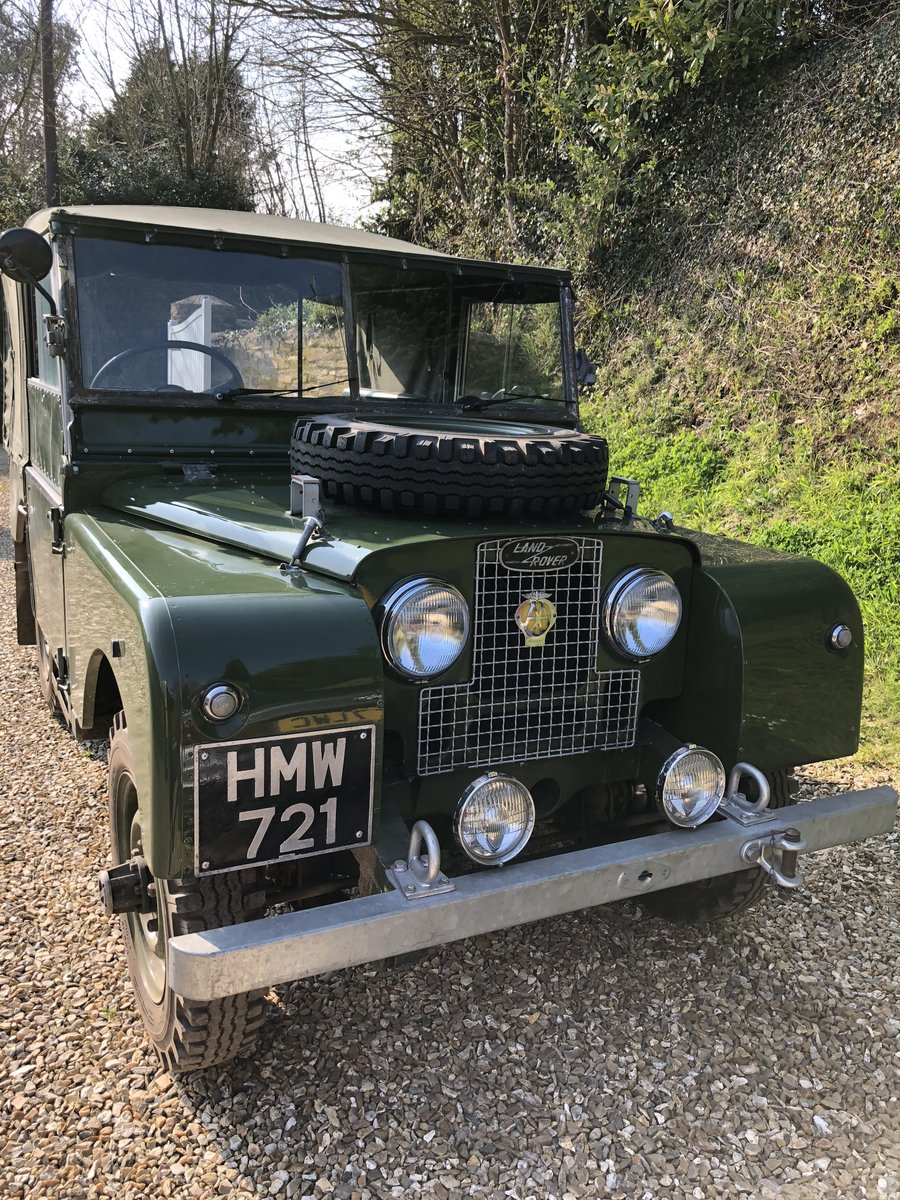 1952 Landrover series 1 For Sale (picture 1 of 6)