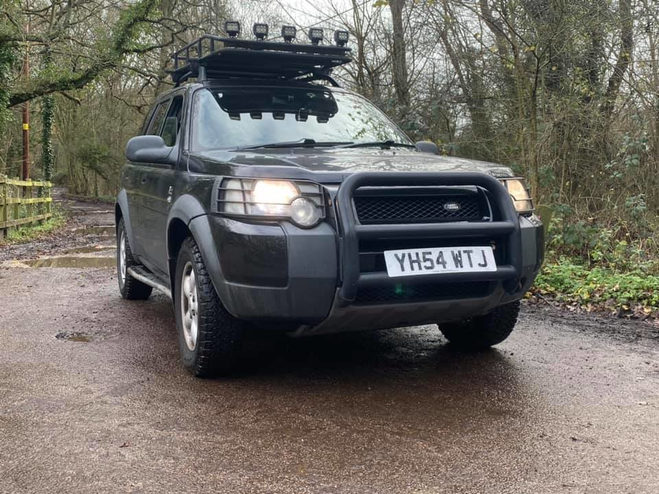 2004 Landrover Freelander K series  G4 challenge style For Sale (picture 1 of 6)