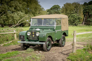 "Picture of Land Rover Series 1 80"" 1953 Model Year in Great Condition For Sale"