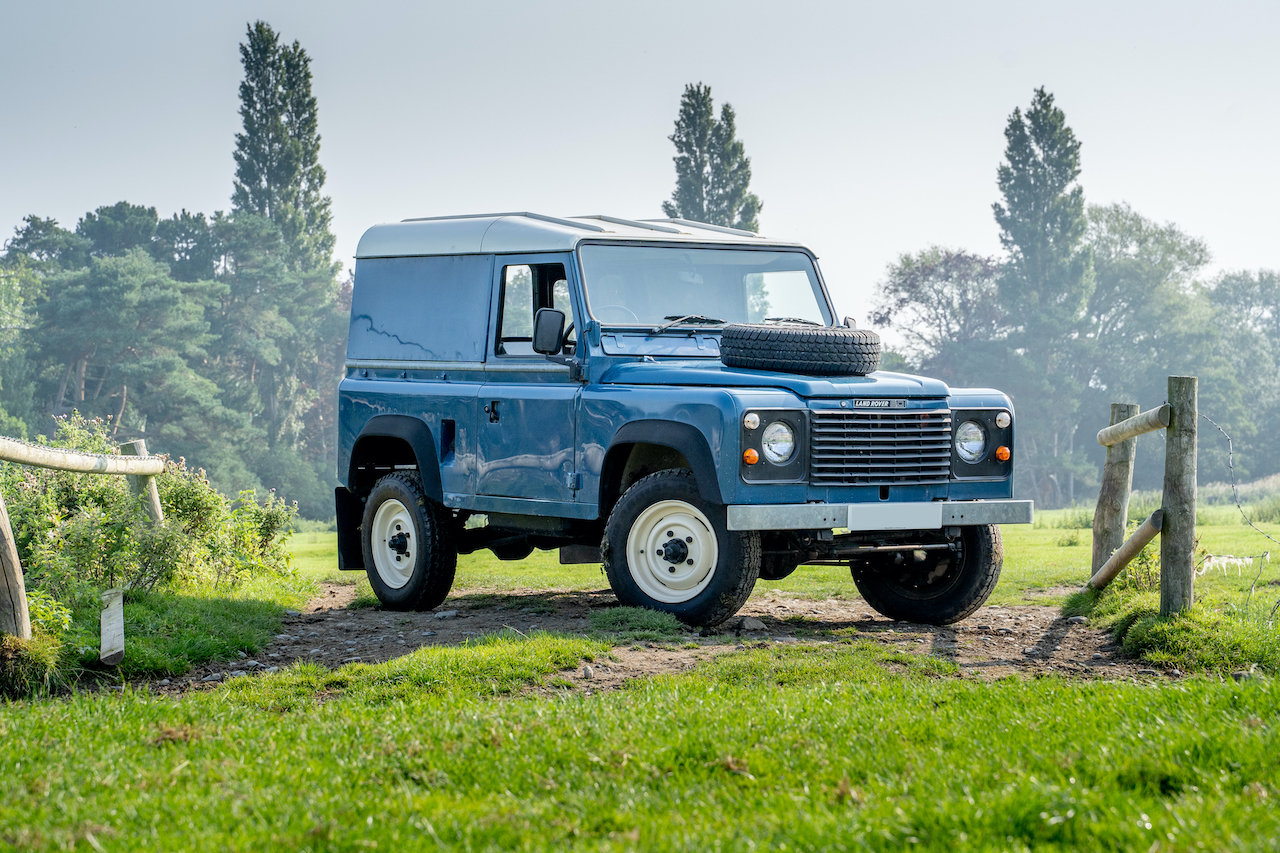Land Rover 90 1986 Defender Hardtop Original Condition 65,00 SOLD (picture 4 of 6)