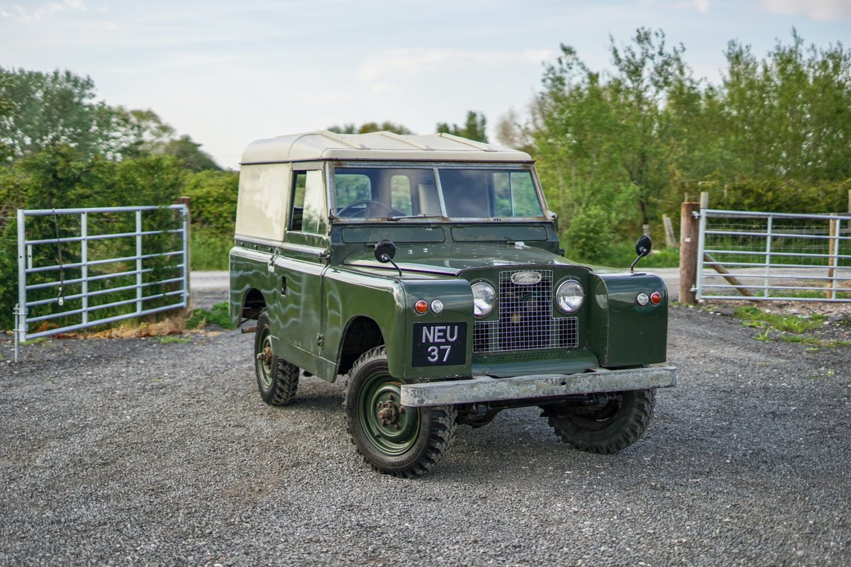 """Land Rover Series 2a 88"""" 1963 2 Owners & 73,000 Miles NEU 37 For Sale (picture 1 of 6)"""