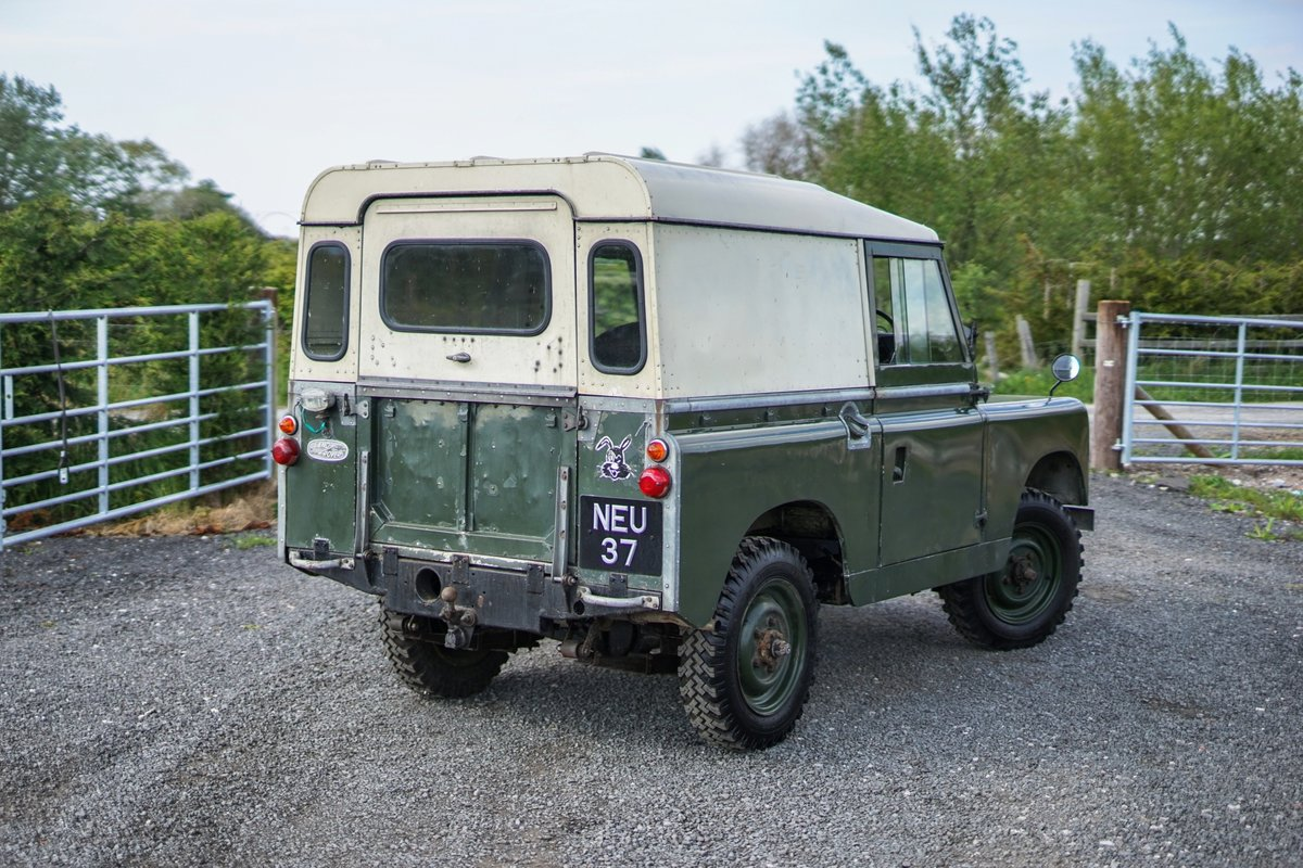 """Land Rover Series 2a 88"""" 1963 2 Owners & 73,000 Miles NEU 37 For Sale (picture 2 of 6)"""