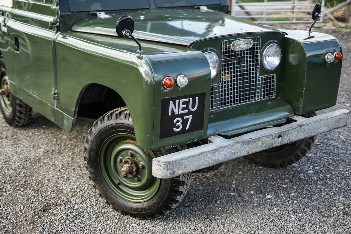 """Land Rover Series 2a 88"""" 1963 2 Owners & 73,000 Miles NEU 37 For Sale (picture 3 of 6)"""