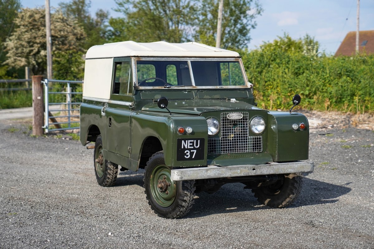 """Land Rover Series 2a 88"""" 1963 2 Owners & 73,000 Miles NEU 37 For Sale (picture 5 of 6)"""