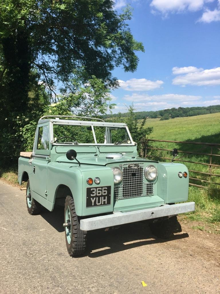 """1963 Land Rover Series 2a 88"""" 1962 Soft Top Nut & Bolt Restoratio For Sale (picture 2 of 6)"""