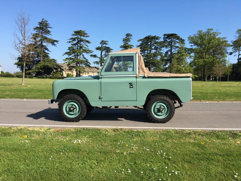 """1963 Land Rover Series 2a 88"""" 1962 Soft Top Nut & Bolt Restoratio For Sale (picture 6 of 6)"""