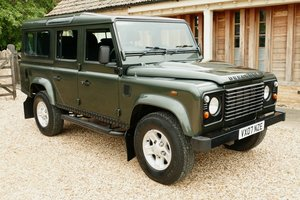 LAND ROVER DEFENDER 110 TDci 7 seat COUNTY STATION WAGON