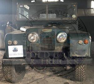"1957 88"" Land Rover Diesel Hard Top"