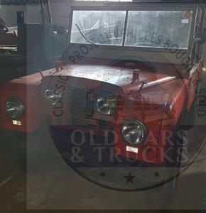 """1951 Land Rover 80"""""""