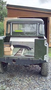 1974 Land Rover Project