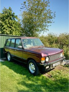 **OCTOBER ENTRY** 1993 Range Rover Vogue 300 TDi *Project* For Sale by Auction